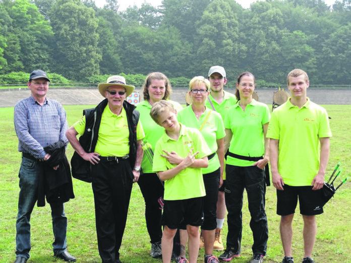Die LTG war in der Bezirksmeisterschaft Bogenschießen sehr erfolgreich. Foto: privat