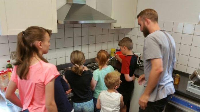 In der Küche wurde viel Zeit verbracht. Foto: von Gerishem