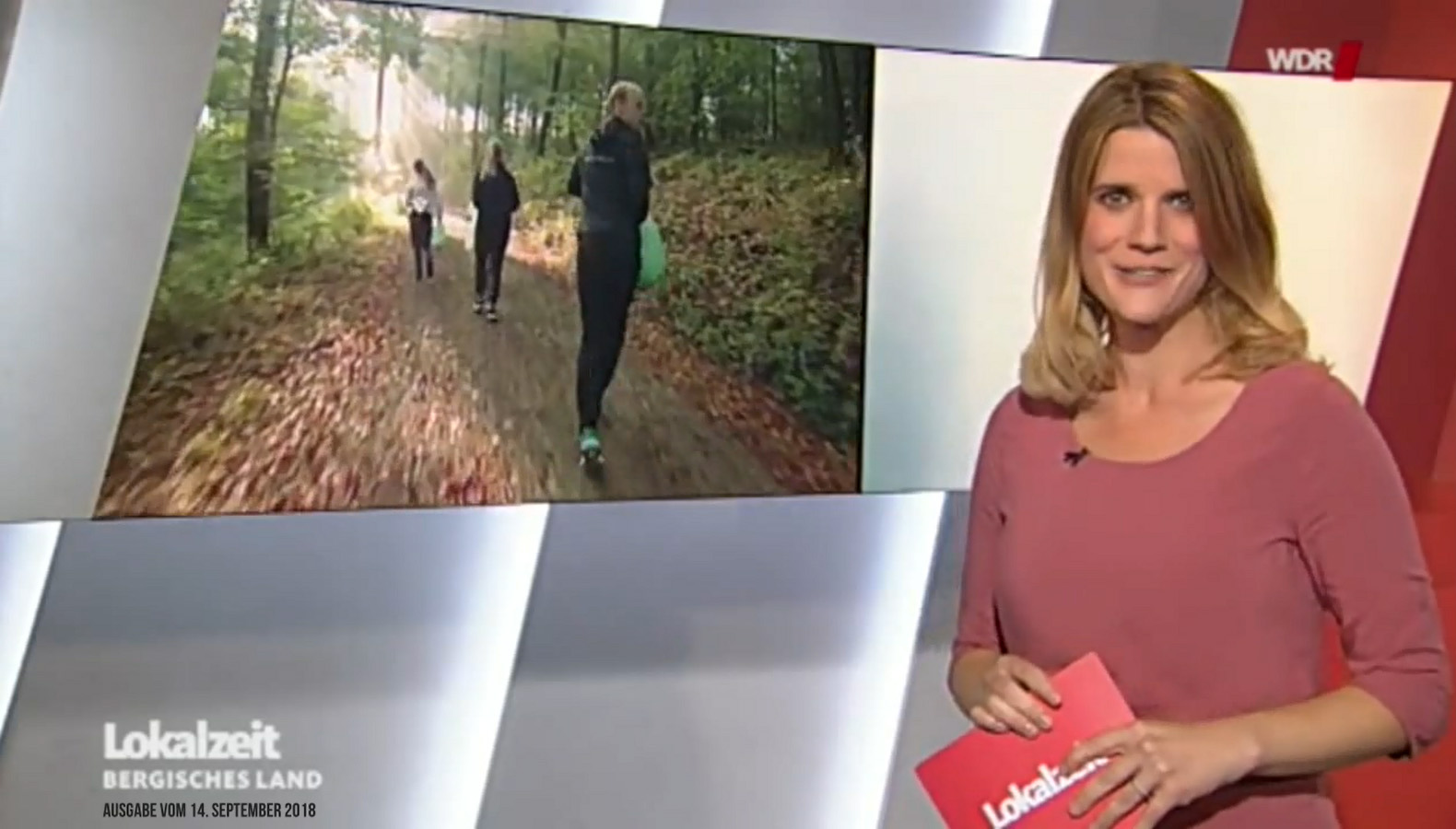 Screenshot: WDR Lokalzeit Bergisches Land vom 14. September 2018