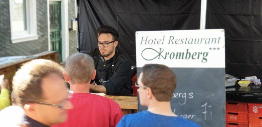 Dank des Hotel Restaurant Kromberg gab es eine große Auswahl an leckeren Gerichten. Foto: Sascha von Gerishem