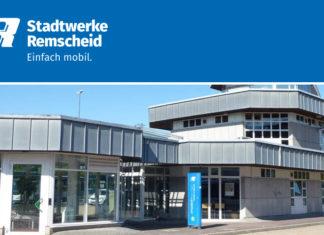 Das MobilCenter der Stadtwerke Remscheid am Friedrich-Ebert-Platz. Foto: Stadtwerke Remscheid