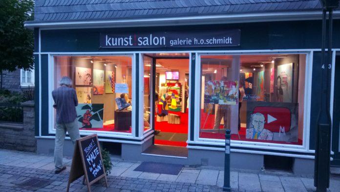 Kunst!salon - Galerie H.O.Schmidt in der Kölner Straße 6 Lennep. Foto: os.media