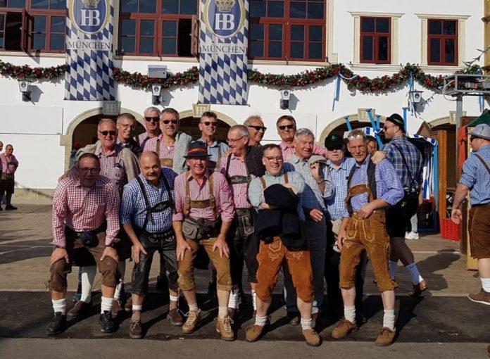 Vom 27. - 29. September war die Männersportgruppe des LTV in München. Foto privat