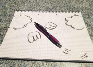 Schreiben beflügelt. Foto: privat