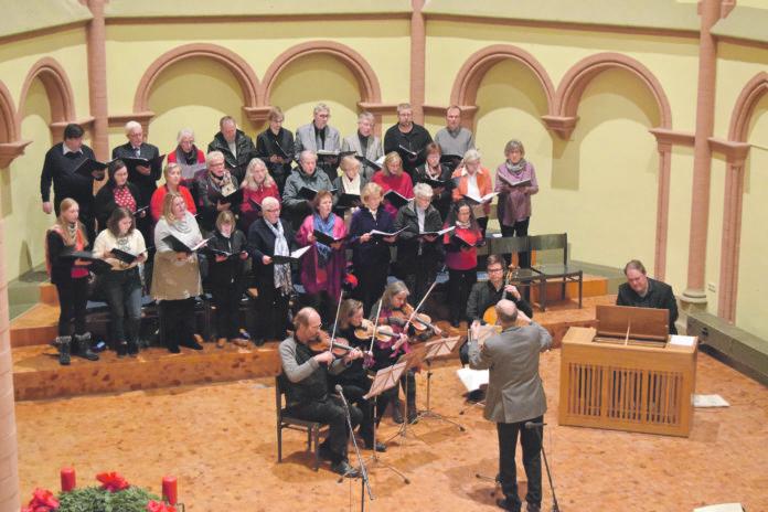 Die Heinrich-Schütz-Kantorei tritt in der ev. Kirche im Tannenhof auf. Foto: Kerstin Ruf