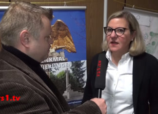 Das Interview mit der Heimatbundvorsitzenden Christiane Karthaus und dem neuen Leiter des Kulturkreises im Heimatbund führte Thorsten Greuling für das Online-Stadtfernsehen für Remscheid - rs1.tv. Screenshot: Frank Wappler - www.rs1.tv