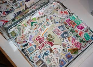 Eine Schatzkiste voller Postwertzeichen. Foto: BSV Remscheid 1935