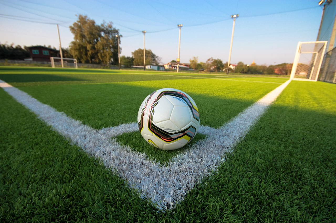 Fußballfeld. Symbolfoto.