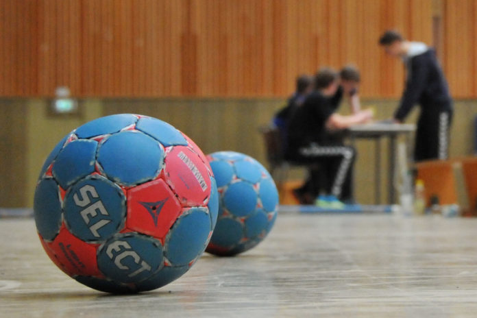 Handball. Symbolfoto.