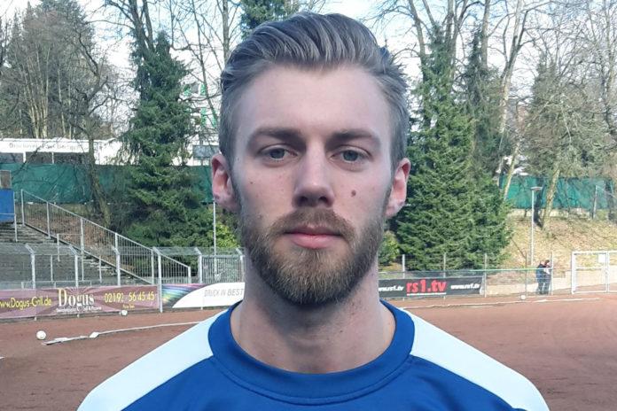 Marius Suchanoff. |Foto: FC Remscheid