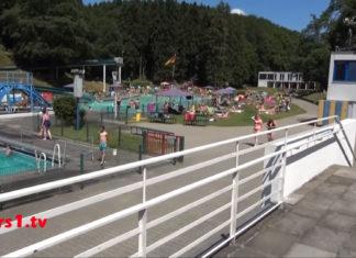 Das Freibad Eschbachtal in Remscheid. Screenshot: rs1.tv