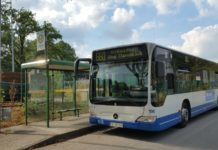 Bus der Stadtwerke Remscheid (SR). | Foto: Sascha von Gerishem