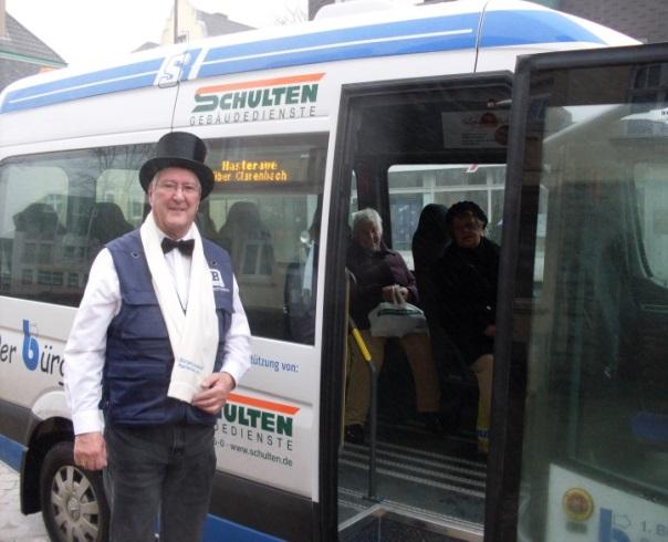 Der 1. Bürgerbusverein Remscheid hofft auf weitere Unterstützer. Foto: Bürgerbusverein