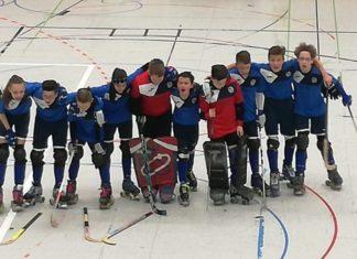 Das U15 Rollhockey-Jugendteam der IGR Remscheid. | Foto: privat