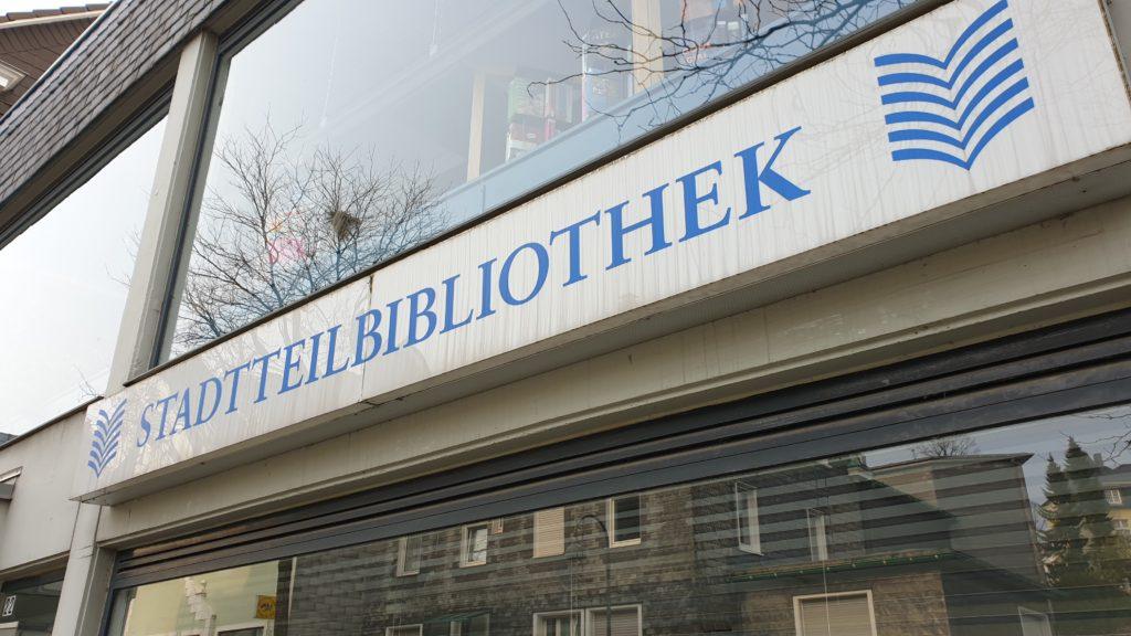 Die Stadtteilbibliothek Lüttringhausen. | Foto: Sascha von Gerishem