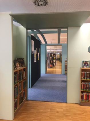 Stadtbibliothek Duisburg. | Foto: Ulla Wilberg