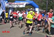 Start zum Lenneper Osterlauf. | Screenshot: rs1.tv / Frank Wappler