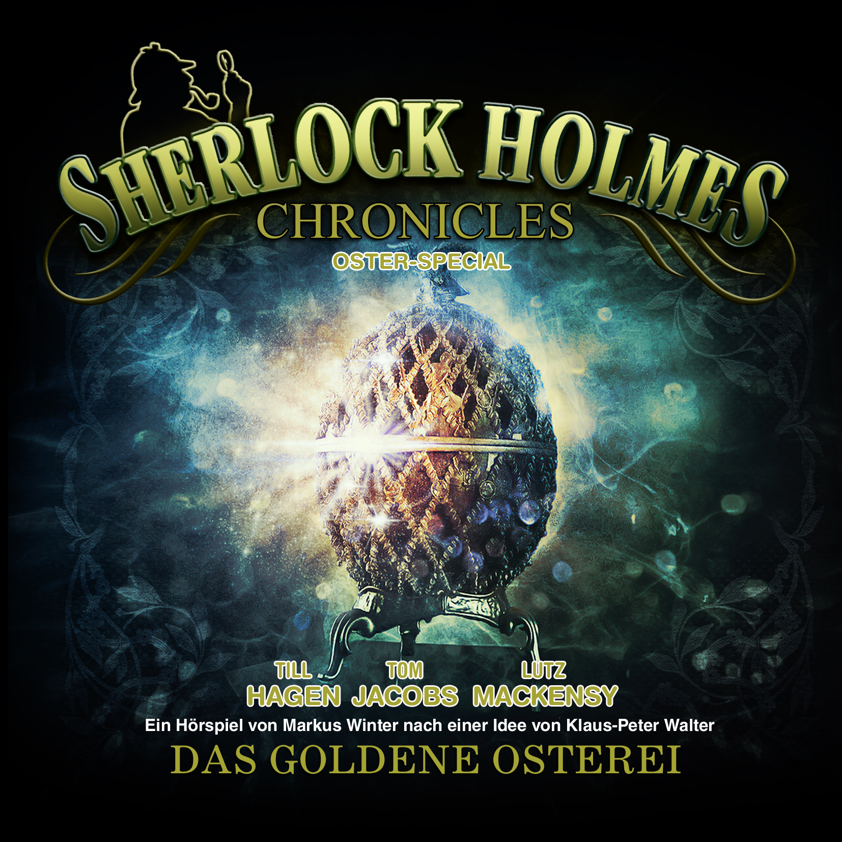Das Osterspecial von den Sherlock Holmes Chronicles in der WinterZeit in Lüttringhausen. | Cover: WinterZeit Audiobooks
