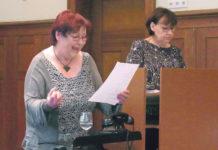 Angela Heise und Ulla Wilberg interpretierten mit Verve (v.l.). | Foto: Sarah Gold
