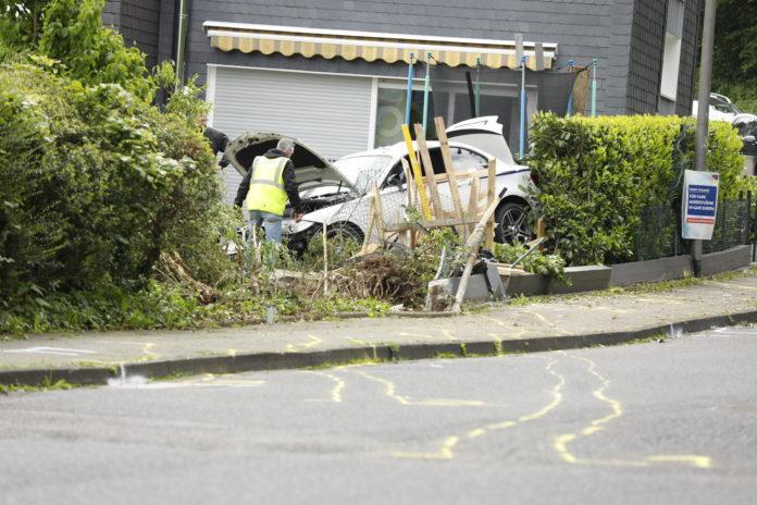 Tragischer Unfall in Remscheid. Foto: Tim Oelbermann
