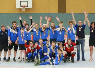 Jubel bei der U15 der IGR Remscheid über den Bronze-Pokal. Foto: IGR Remscheid