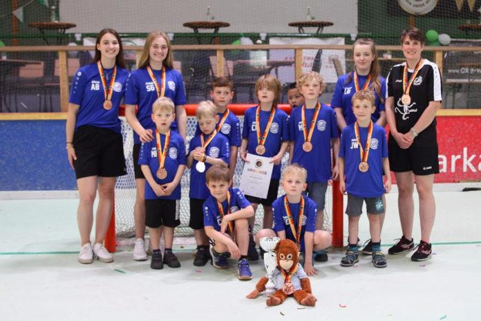 In Cronenberg holte sich die U9 der IGR Remscheid den Bronze-Pokal in der Deutschen Meisterschaft. Foto: IGR Remscheid