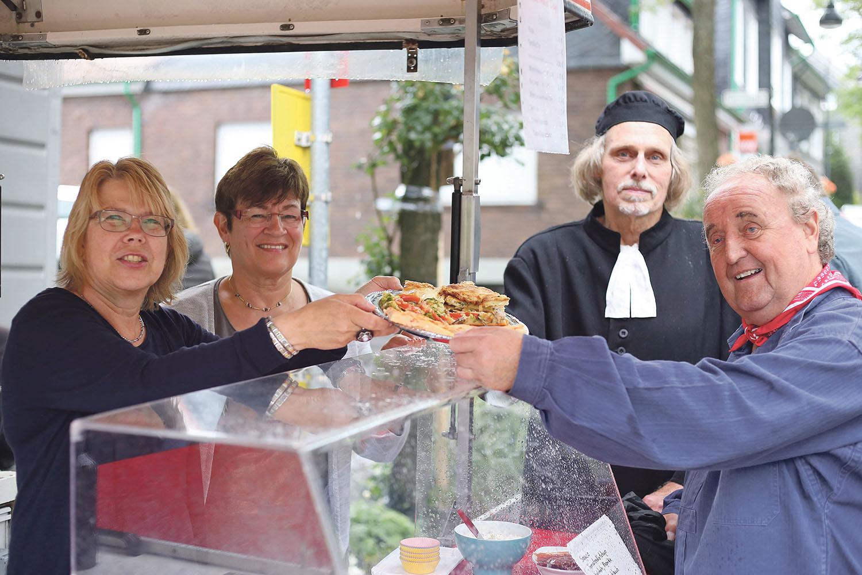 Nach den Heimatspielen wird es em Dorp wieder gemütlich. | Foto: Tim Oelbermann - www.oelbermann-foto.de