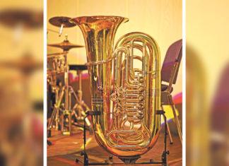 Tuba. Symbolfoto.