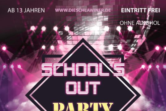 Die Schlawiner laden zur School's Out-Party ein. Foto: offiziell