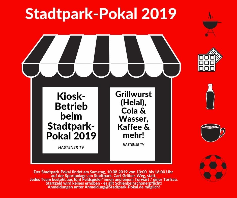 SPD-Remscheid: Kiosk-Betrieb beim Stadtpark-Pokal durch den Hastener TV.