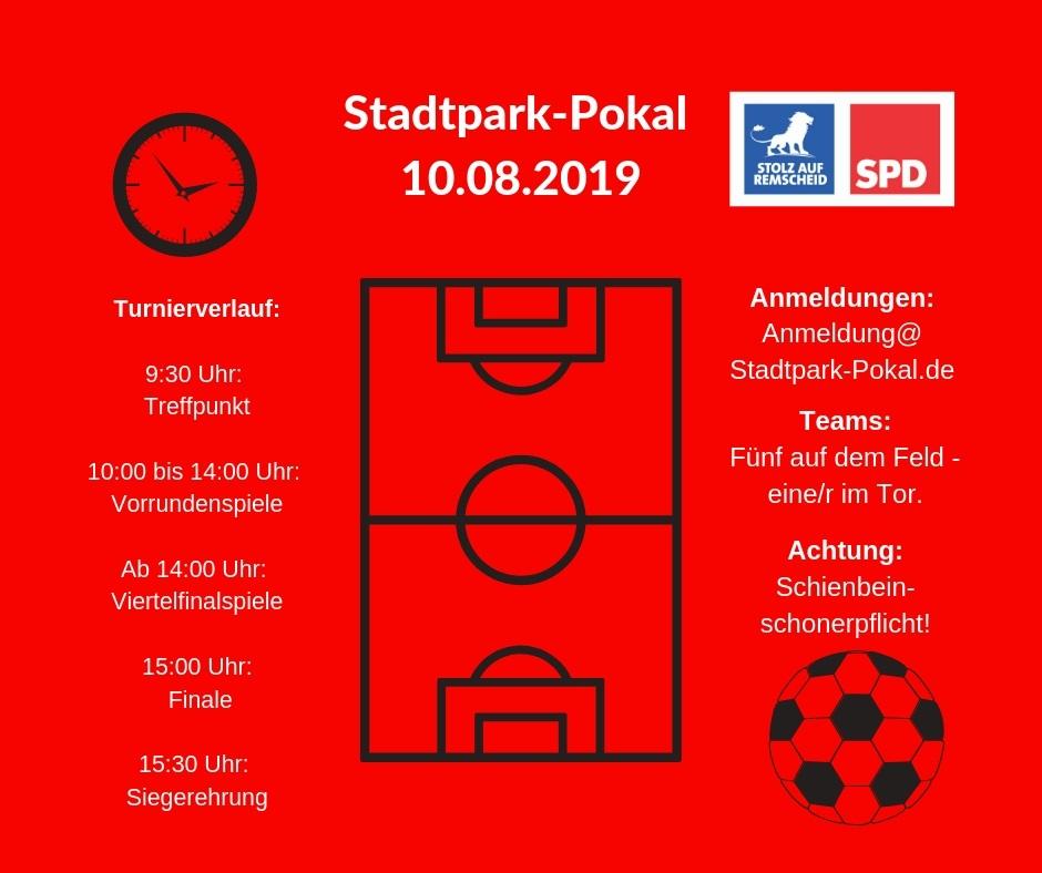 SPD-Remscheid: Der Turnierverlauf beim Stadtpark-Pokal 2019.