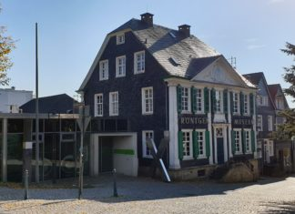 Das Deutsche Röntgen-Museum befindet sich in der Schwelmer Straße 41 in 42897 Remscheid-Lennep. Foto: Sascha von Gerishem