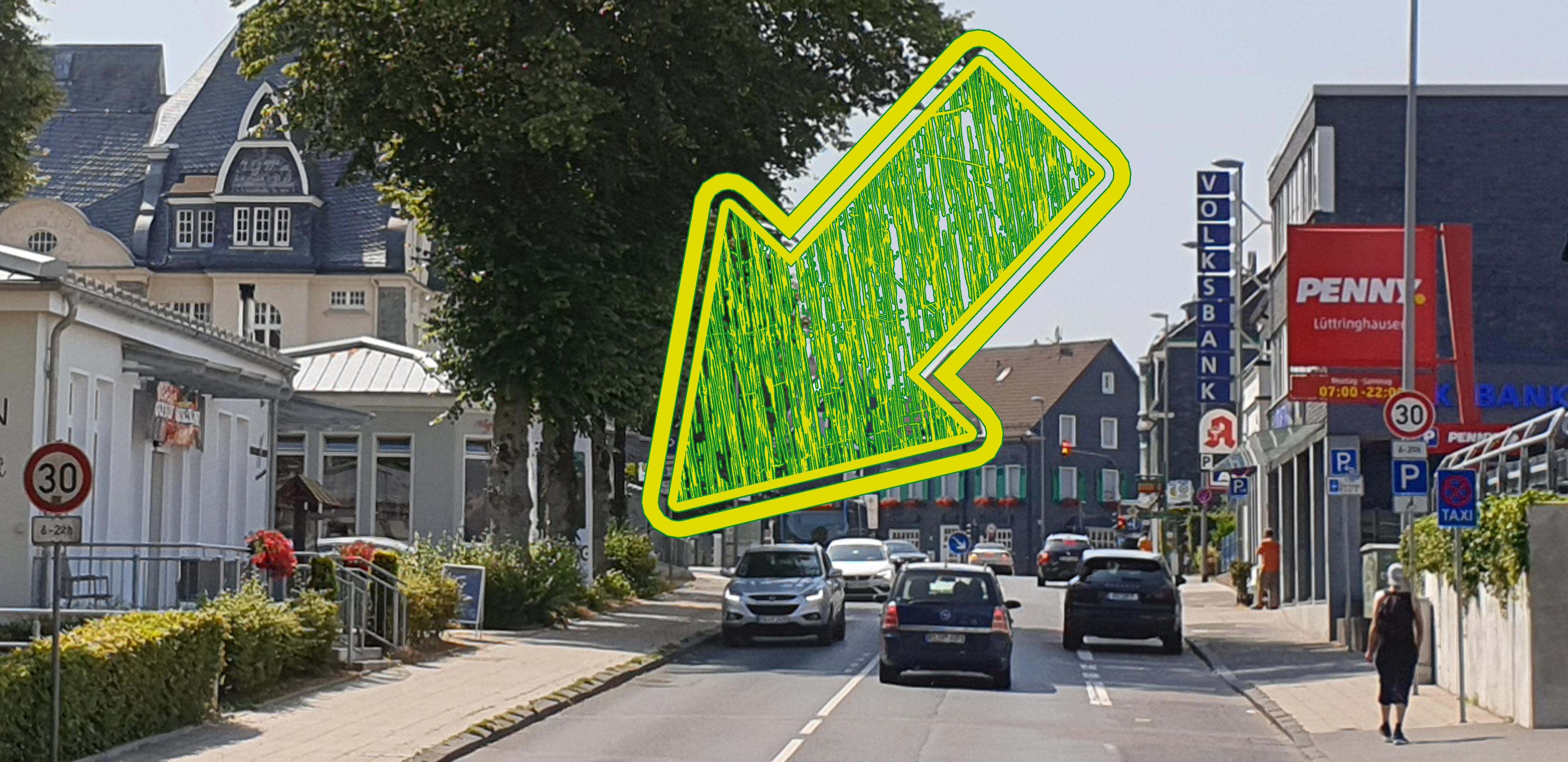 Treffpunkt zum Fotorundgang durch Lüttringhausen vom Kulturkreis mit Juudo-Fotografie ist die Holzofenbackstube BEckmann an der Kreuzbergstraße 13. Foto: Sascha von Gerishem