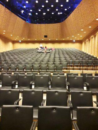 """Der """"kleine"""" Saal der Elbphilharmonie. Foto: Peter Klohs"""