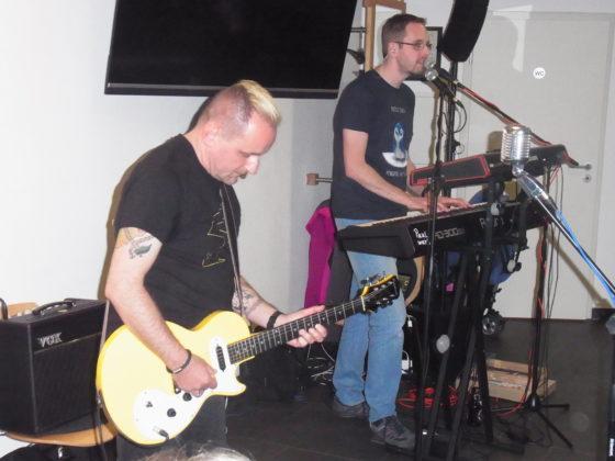"""Die Band """"Paul war's"""" im Backhaus der Augusta Hardt Horizonte. Foto: Peter Klohs"""