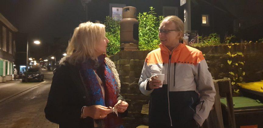 Sandra Schulte und Frank Hoffmann. Foto: Sascha von Gerishem