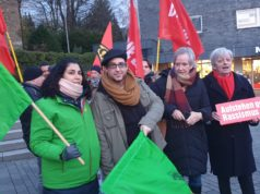 Die Grünen und die Linke aus Remscheid sind aktive und verlässliche Partner des Aktionsbündnisses Remscheid Tolerant. Foto: Sascha von Gerishem