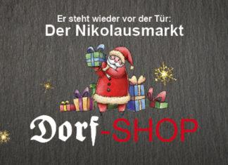 Nikolausmarkt im Dorf-Shop in Lüttringhausen.