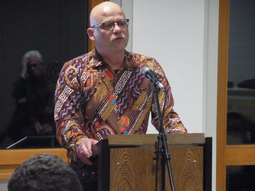 Engagementförderer Andy Dino Iussa vom Lotsenpunkt. Foto: Peter Klohs