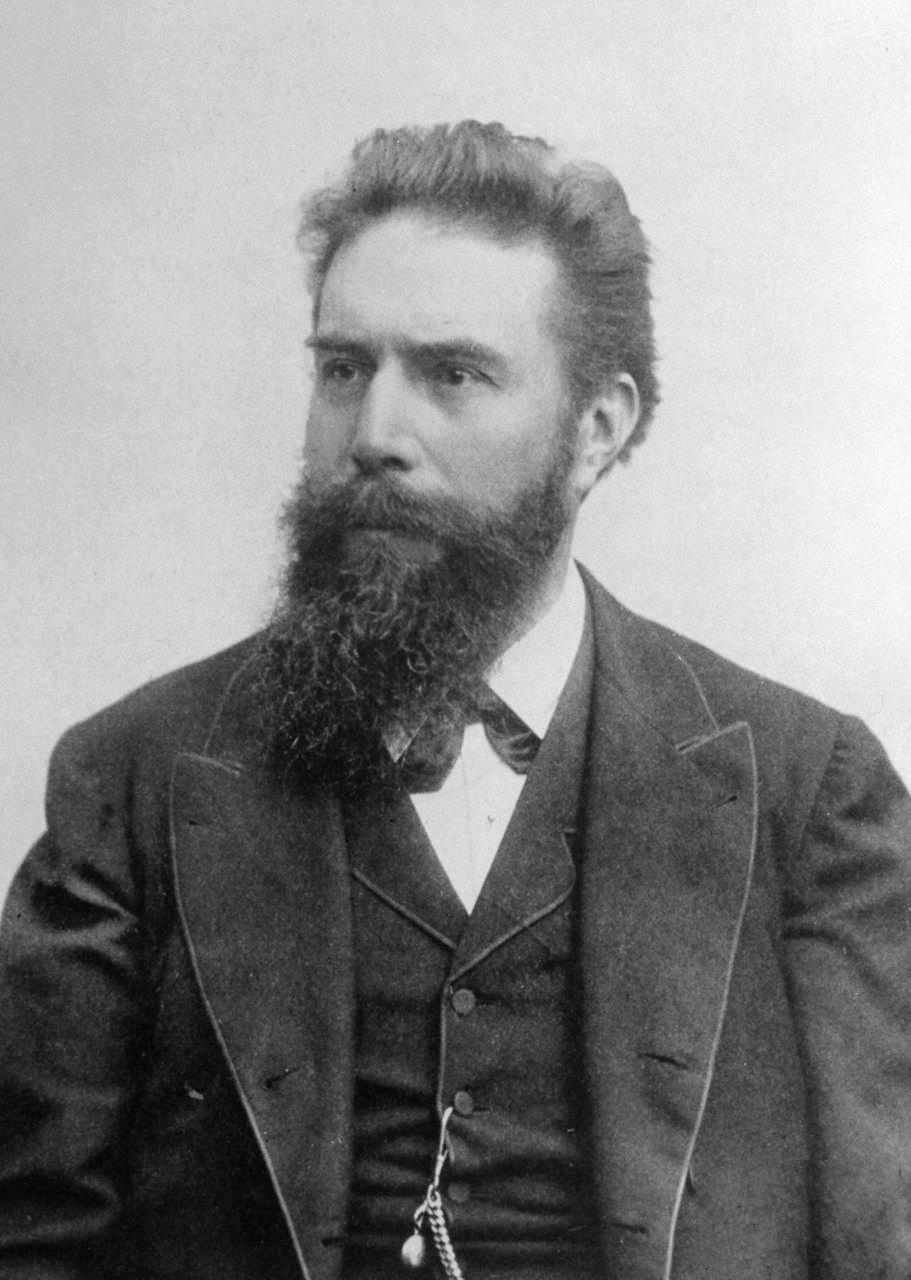 Wilhelm Conrad Röntgen. via Wikimedia Commons