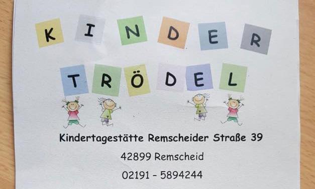 Trödelmarkt für Kindersachen am 16.11.2019 von 11-15 Uhr in der Kita Remscheider Straße in Lüttringhausen. Foto: KTE Remscheider Straße