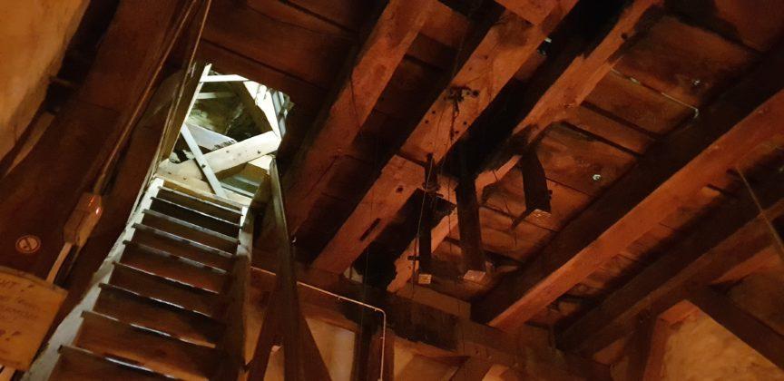 Der Aufstieg in den Glockenturm. Foto: Sascha von Gerishem