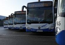 Beeindruckend: Stadtwerke Remscheid schicken fünf neue Mild-Hybrid-Busse ins Rennen. Foto: Michael Mandt
