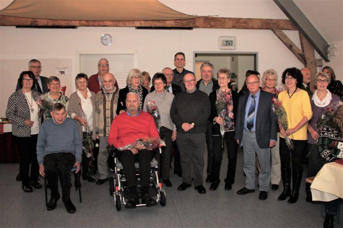 Bei der Mitgliederversammlung der Lenneper Turngemeinde wurden auch 2019 viele Jubilare geehrt. Foto: LTG