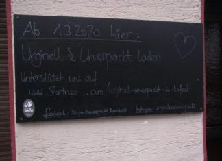 Remscheids erster Unverpacktladen eröffnet am 1. März 2020 in der Hindenburgstraße. Foto: Peter Klohs