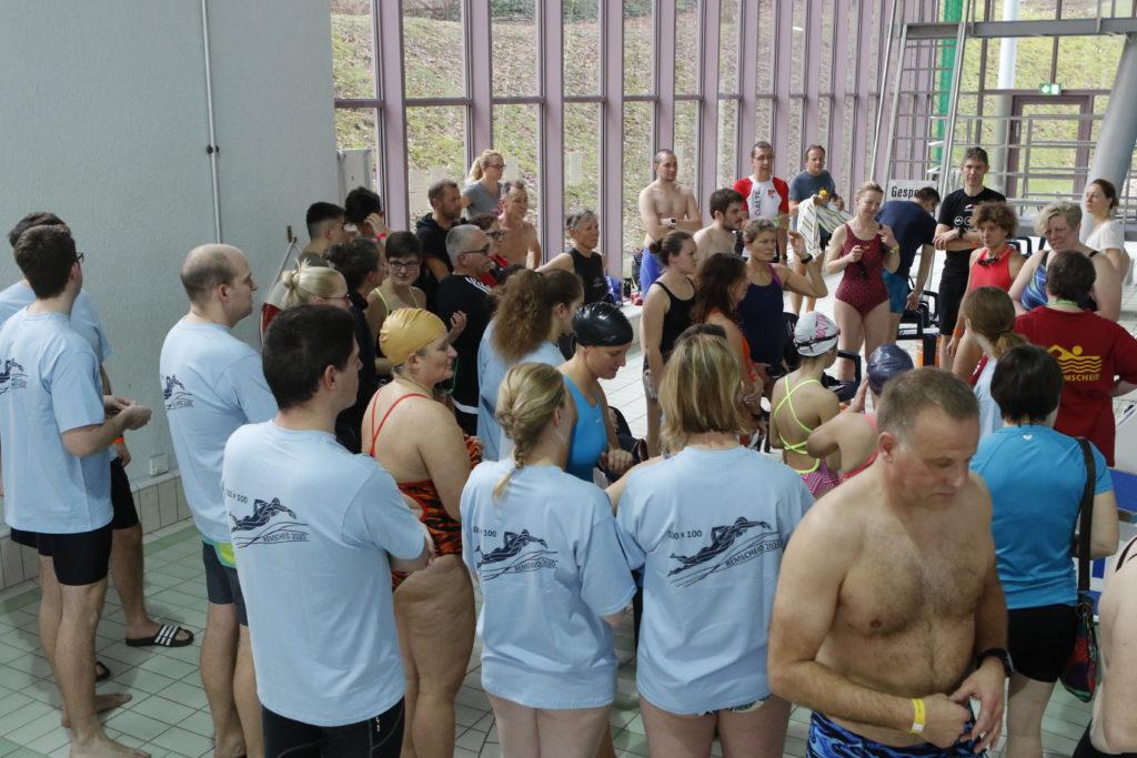 Die SG Remscheid hat das 100x100m-Schwimmen 2020 zum vierten Mal ausgerichtet. Foto: Volker Schröer / www.sg-remscheid.de