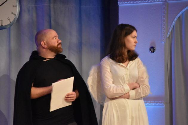 Guido Romlau und Livia Strauch (v.l.) Foto: Peter Klohs