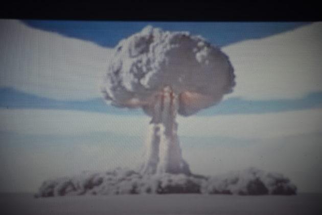 Die letzte Atombombe. Foto: Peter Klohs