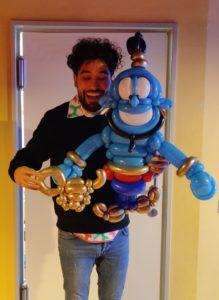 Ballonkünstler Hakan Eren. Foto: privat