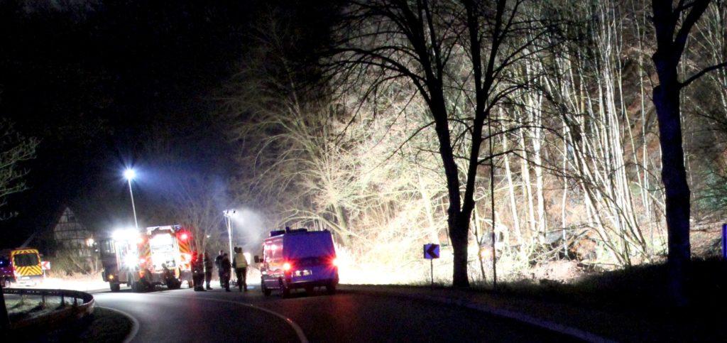 Mehrere Rettungswagen waren im Einsatz. Foto: Polizei